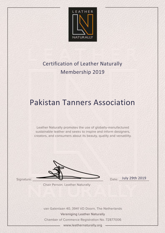 PTA - Pakistan Tanners Association | Official Website
